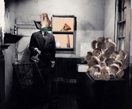 Mann mit Pinsel